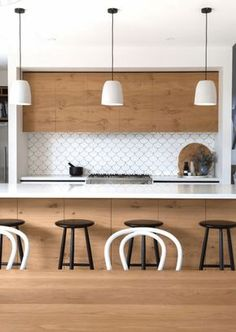In the Traditional Scandinavian Kitchen area photo I've over, I would have to state that the Danish design provides this […] Light Wood Cabinets, Galley Kitchen Remodel, Stainless Backsplash, American Kitchen, Scandinavian Kitchen, Kitchen Photos, Kitchen Ideas, Cabinet Lighting, Kitchen Dining