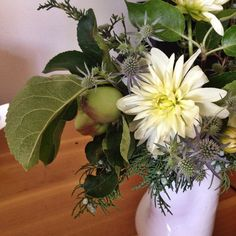 cool vancouver florist Thistles, juniper, apple branches, and sage brush from my hometown #afterlight  #vancouverflorist #vancouverflorist #vancouverwedding #vancouverweddingdosanddonts