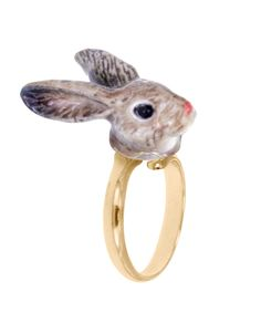 Bu yüzük, sizi Harikalar Diyarı'ndaki bir Alice misali tavşan deliğinden içeri dalma konusunda biraz fazla heveslendirebilir.