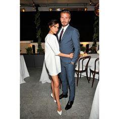 Victoria Beckham & David Beckham #couple #love