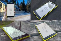 If you are searching for some high-resolution Lumia 1520 Mockups, your search ends here. This unique freebie includes high-resolution Lumia 1520 images in four different angles. Lumia 1520 phonesare shownoutdoors with different amounts oflight. The mockups come with smart objects for easy design insertion. Screenshots