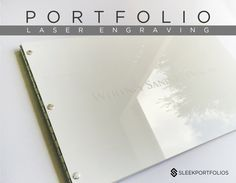 LASER ENGRAVING - UPGRADE Engrave my design on my portfolio (this listing is for engraving services only  does not include portfolio)