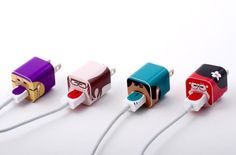 Stick a Whooz On It: Give Your iPhone Chargers a Face (And a Personality)