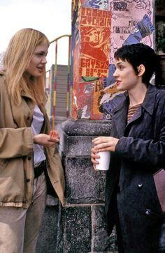 Winona & Angelina on set of Girl, Interrupted