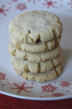 Brown Butter Hazelnut Sugar Cookies