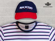 #saxoolondon #menswear #details #sporty #cap #logo #striped