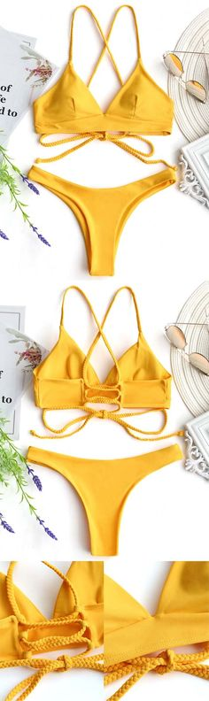 Up to 80% OFF! Plaited Cami Cross Back Bikini Set. #Zaful #Swimwear #Bikinis zaful,zaful outfits,zaful dresses,spring outfits,summer dresses,Valentine's Day,valentines day ideas,cute,casual,classy,fashion,style,bathing suit,swimsuits,one pieces,swimwear,bikini set,bikini,one piece swimwear,beach outfit,swimwear cover ups,high waisted swimsuit,tankini,high cut one piece swimsuit,high waisted swimsuit,swimwear modest,swimsuit modest,cover ups,swimsuit cover up @zaful Extra 10% OFF Code:ZF2017
