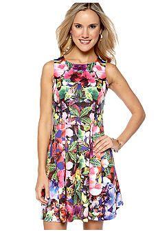 Eight Sixty Kona Coast Floral Print Dress #belk