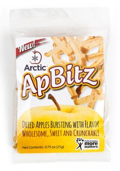 Hello, healthy snacking: introducing our new Arctic ApBitz™ dried apple snacks, now available for purchase anywhere in the US. Preservative free and made from Arctic® apples. Healthy Fruit Snacks, Apple Snacks, Gourmet Recipes, Snack Recipes, Cooking Recipes, Apple Varieties, Dried Apples, Chips, Arctic