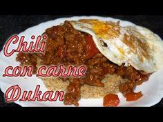▶ Chili con carne dukan - Receta fase crucero - YouTube