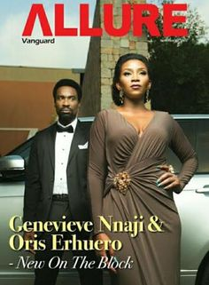 Check Genevieve Nnaji & Oris Erhuero cover Vanguard Allure: See Photos here