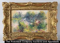 """A woman who bought a $7 box lot at a flea market unwittingly scored a painting by Pierre-August Renoir. But don't get too jealous: """"Renoir Girl,"""" as the finder was known to the media, wasn't able to cash in her original """"Paysage Bords De Seine."""" In a dramatic twist, the painting that launched a thousand flea market visits turned out to be stolen six decades ago from the Baltimore Museum of Art."""