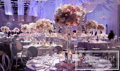 Event Design is an award-winning events company based in Toronto Wedding Reception, Wedding Shit, Wedding Ideas, Reception Ideas, Crystal Candelabra, Wedding Decorations, Table Decorations, Event Company, Event Lighting