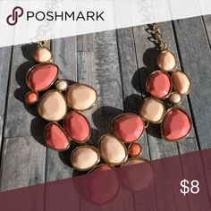 Pink Statement Necklace variety shades of pink statement necklace Jewelry Necklaces