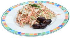 Lahanosalata of Griekse kool salade