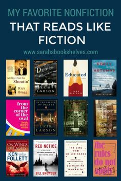 When people ask me for nonfiction recommendations, they often request nonfiction books that reads like fiction. Looking to find the next big novel? Check out our list of popular books 2019 has to offer. Books You Should Read, Best Books To Read, Book List Must Read, Best Book Club Books, Recommended Books To Read, Best Non Fiction Books, Book Suggestions, Popular Books, Nonfiction Books