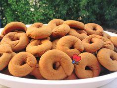 Greek Cookies, Eat Greek, Sweets Recipes, Desserts, Greek Sweets, Greek Recipes, Doughnuts, Bagel, Blog