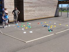 Remote control car obstacle course activity for a school carnival. SignUpGenius we love inexpensive ideas like this one that are sure to please your crowd. #genius