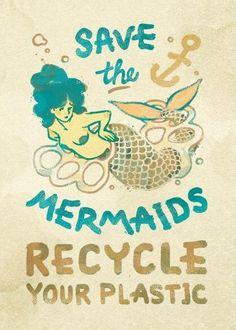 Better yet, go plastic free. Mermaid Fairy, Mermaid Tale, Real Mermaids, Mermaids And Mermen, Fantasy Mermaids, Sirens, Mermaid Quotes, Water Nymphs, Merman