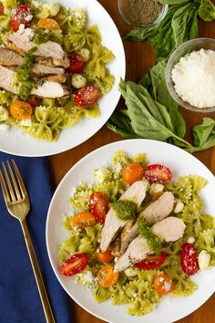 Pesto Pasta Salad --