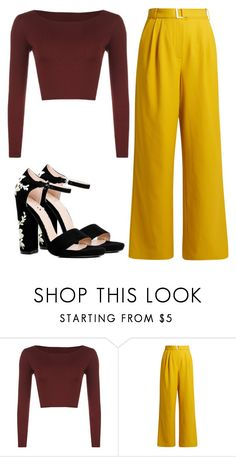 """Focus on me"" by meli3108 ❤ liked on Polyvore featuring TIBI and Boohoo"