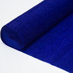 Italian Crepe Paper roll 180 gram - 555 Blue Cartotecnica...