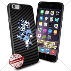 North Carolina Tar Heels, Mascot NCAA Sunshine#2125 Cool iPhone 6 - 4.7 Inch Smartphone Case Cover Collector iphone TPU Rubber Case Black SUNSHINE-HAPPY http://www.amazon.com/dp/B011SH892O/ref=cm_sw_r_pi_dp_ELH.vb1SX1M4Q