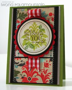 from Random Acts Of Creativity by Iwona Palamountain (Chupa) / This would be a beautiful design for a sympathy card