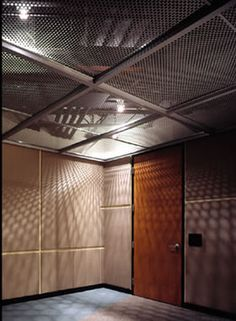 Perforated metal used as Perforated Ceiling