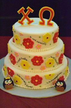 Epsilon Kappa's 30th Reunion celebration cake! (That's my chapter!)