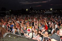 #Hyperfest fans rock the night! Here it comes baby, Sat, 6/15. [Crowd pic]