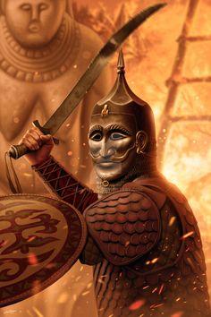 Cuman warrior by JFoliveras.deviantart.com on @DeviantArt