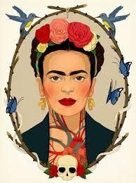 """Résultat de recherche d'images pour """"dessin frida kahlo"""""""