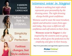 Looking for the best and quality fashion store for Womens Wear in Nagpur. Then log on to Picker Online.
