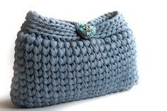 Elegant Handbag  Crochet Clutch Purse   Clutches by LiveFashion