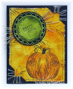 Prickley Pear Rubber Stamps: Scalloped Circle Die, Circles Fall Clearly Beautiful Stamp Set, Small Oak Leaf, Dandelion Pumpkin.