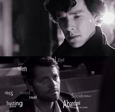 SuperLock. Sherlock sees Castiel
