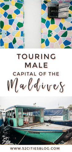 Touring Malé, the capital city of the Maldives - Male, Maldives - Male Maldives, Maldives Beach, Visit Maldives, Maldives Travel, Capital Of Maldives, Holiday Places, Holiday Destinations, Travel Destinations, Travel Advisory