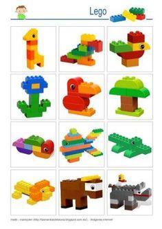 LEGO - basic constructions - Elizabeth W. Lego Basic, Lego Club, Minecraft Lego, Lego Therapy, Construction Lego, Lego Challenge, Lego Craft, Lego For Kids, Lego Blocks