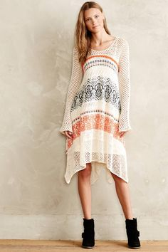 Sheer Cloud Pullover Dress - anthropologie.eu