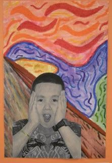 """""""The Scream"""":  WHAT'S HAPPENING IN THE ART ROOM??"""
