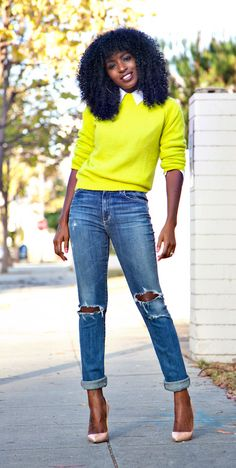 NEON sweater  stylepantry.com