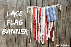 DIY Flag Banner: 4th of July Decoration — craftbits.com