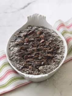 Chocolate Bread Pudding for T Bone