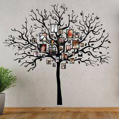 Family Tree Wall Decal Sticker XL by SuperStickerDecals on Etsy, $99.99