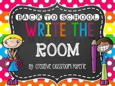 This FUN center activity is great for the first few days back. It is fun to post supply cards in the area you keep you supplies in the room to help students become familiar with a new classroom. They will enjoy hunting for the cards and recording! Easy print cut and laminate for a stress week!