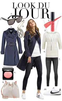 Look Du Jour: Supersach! Look Du Jour: Supersach! Casual Chic Outfits, Fashion Outfits, Tomboy Outfits, Emo Outfits, Dance Outfits, Punk Fashion, Lolita Fashion, School Outfits, Looks Style