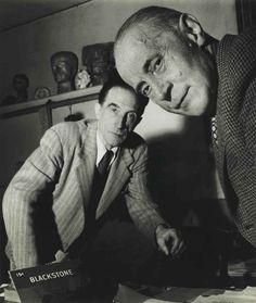 Robert Doisneau (1912–1994) Jacques Villon and Marcel Duchamp, November, 1950