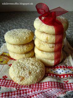 Salko cookies | NajRecept.sk Fudge Brownies, Brownie Cookies, Condensed Milk Cake, Czech Recipes, Sweet Cookies, Sweet Pastries, Biscuit Recipe, Sweet Desserts, Holiday Cookies