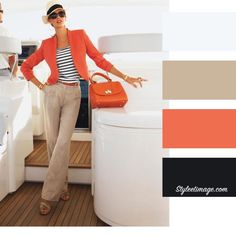 Moda casual chic color combos 43 ideas for 2020 Colour Combinations Fashion, Color Combinations For Clothes, Color Blocking Outfits, Fashion Colours, Colorful Fashion, Color Combos, Orange Outfits, Colourful Outfits, Pantalon Naranja Outfits